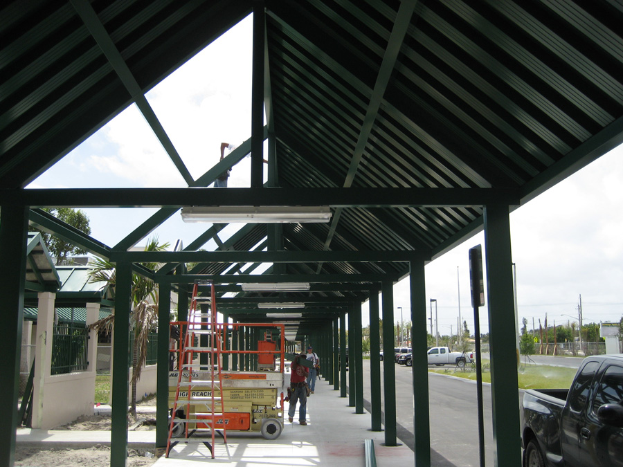 Broward County Schools Canopy Lighting Project
